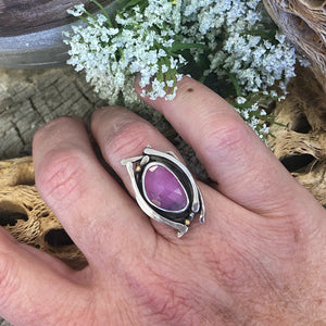 Dream Ring - Pink Sapphire - Size 5.5