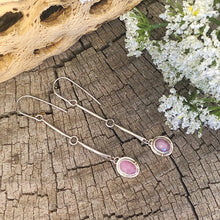 Balance Earrings - Light Pink Sapphire