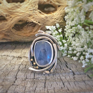Dream Ring - Blue Sapphire - Size 10