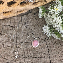 Balance Necklace - Pink Sapphire
