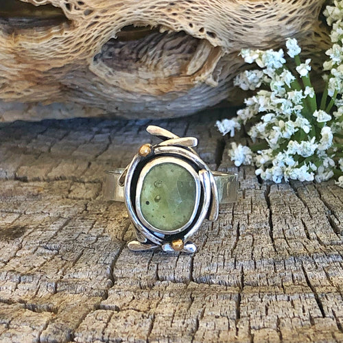Dream Ring - Green Sapphire - Size 8