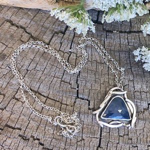 Dream Necklace - Blue Sapphire