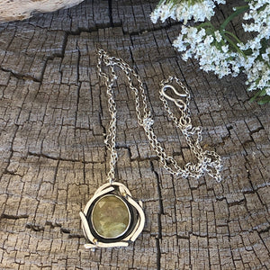 Dream Necklace - Green Sapphire