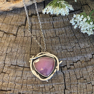 Dream Necklace - Pink Sapphire