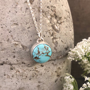 Blue Moon Turquoise Necklace