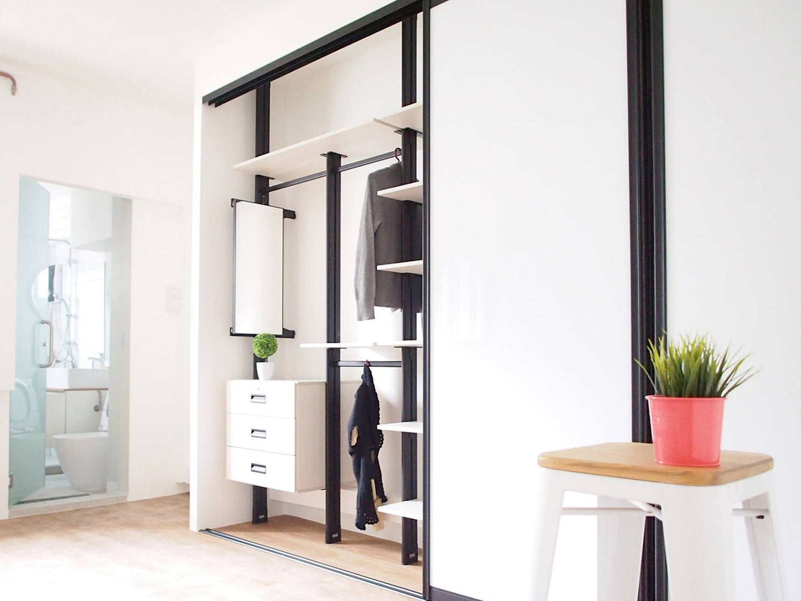 10 Ways To Design A Wardrobe For Small Spaces