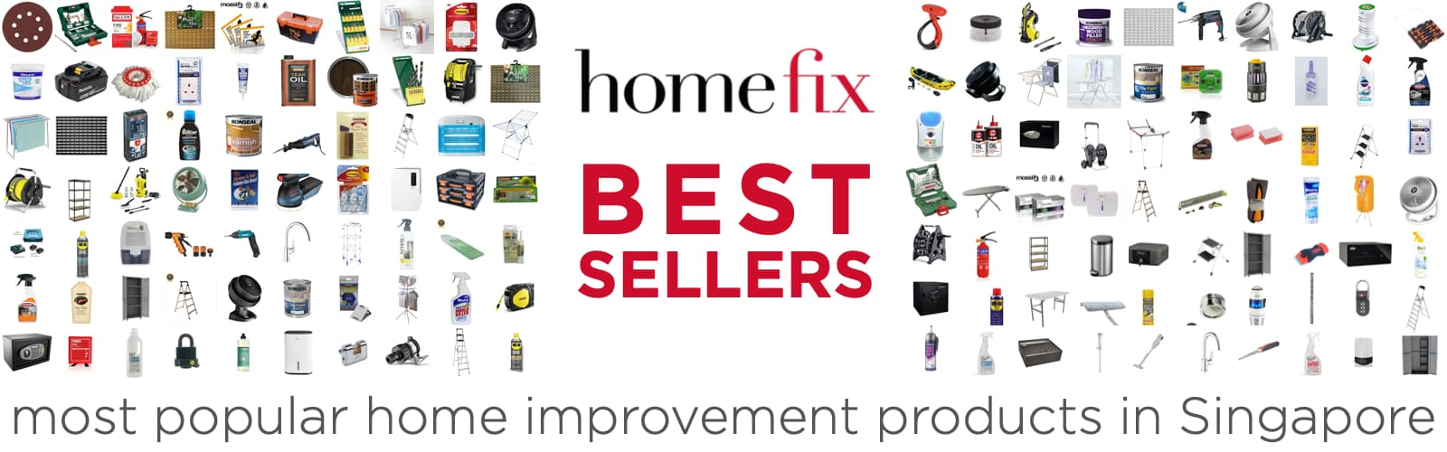 Homefix Singapore Home Improvement Best Sellers