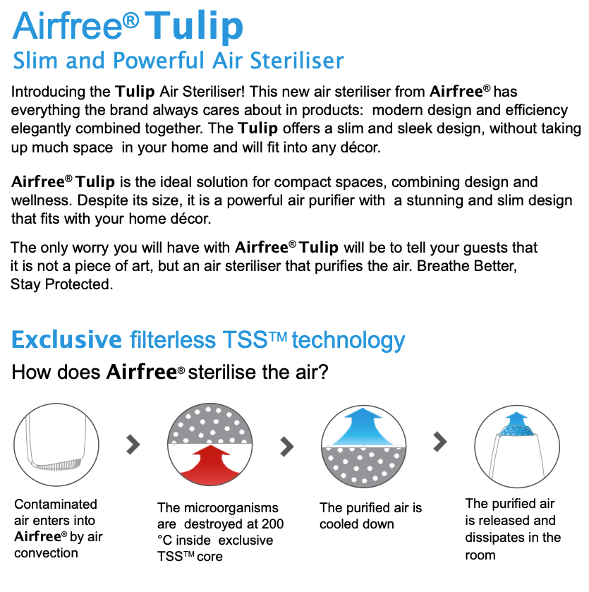 Details about the Airfree Tulip 05