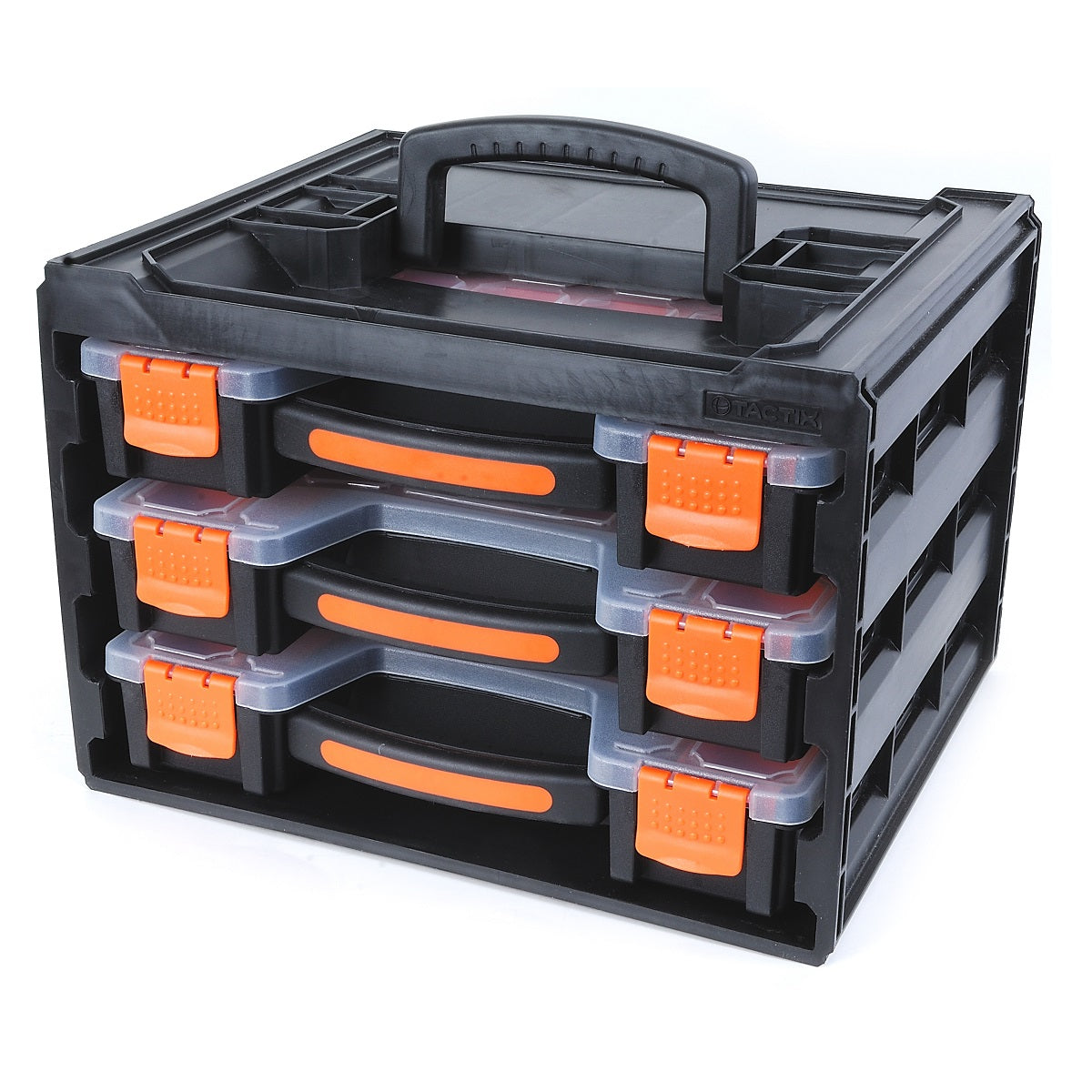 Tactix 3-Piece Storage Box Organiser