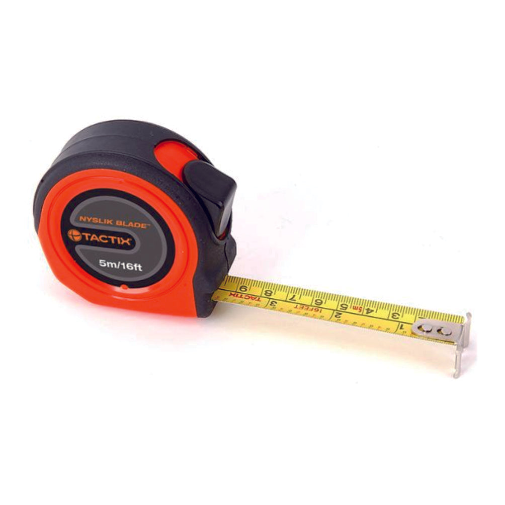 Tactix Retract Measure Tape (5M(16Ft)X19mm)