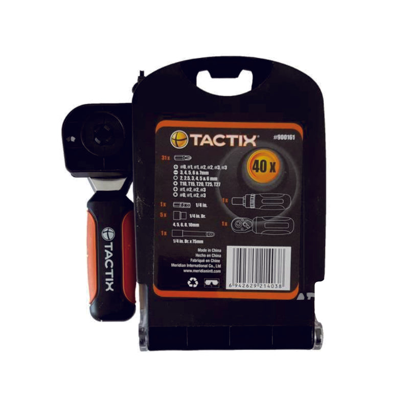 Tactix Stubby Tool Set (40Pcs)