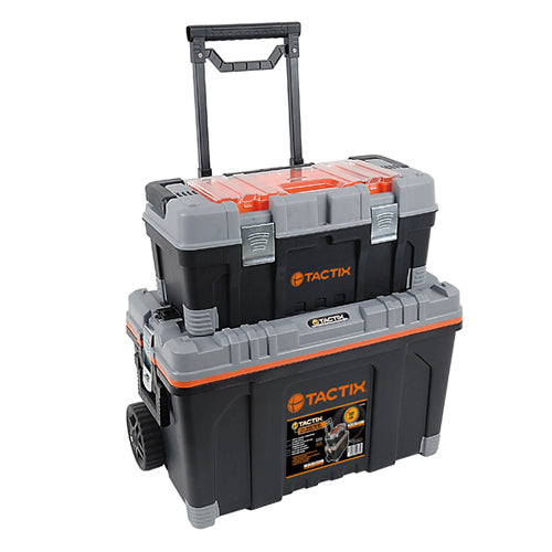 Tactix Rolling Tool Box 2In1