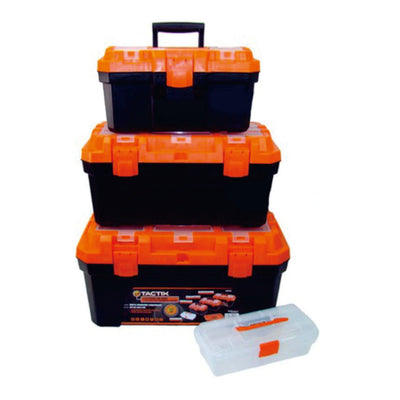 Tactix 4Pc Plastic Tool Boxes