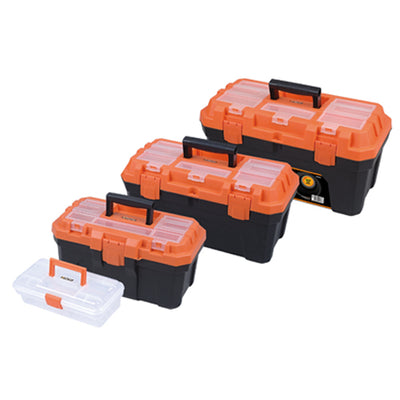 Photo of Tactix 4Pc Plastic Tool Boxes