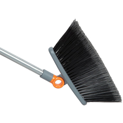 Casabella Swivel-It Broom Graphite/Orange