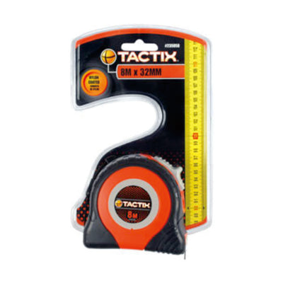 Tactix Tape Measure High (8Mx32mm)