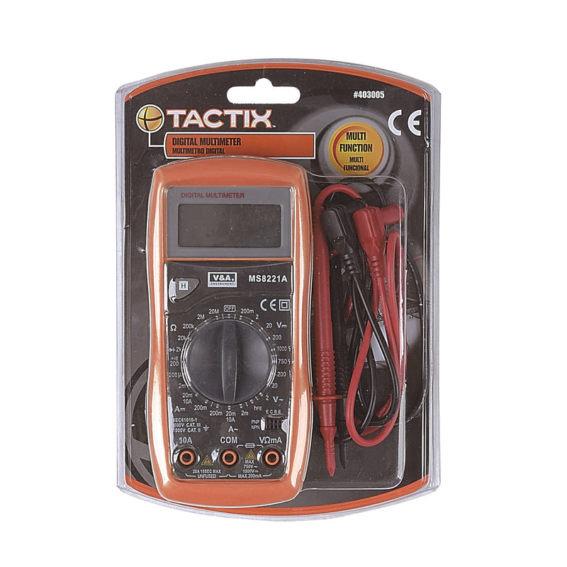 RENT - Tactix Ms8221A Digital Multimeter