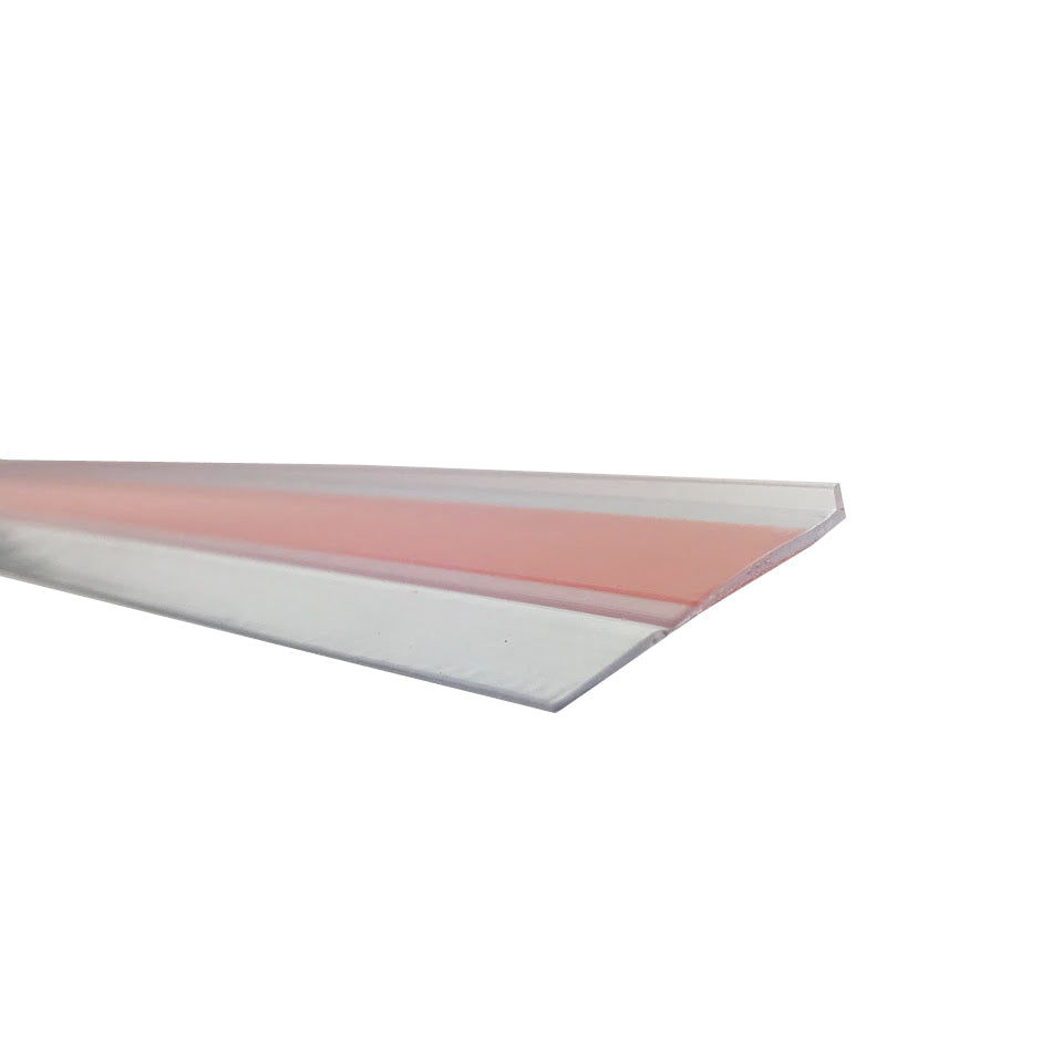 SuperSeal Door Bottom Flipper Clear 1000mm