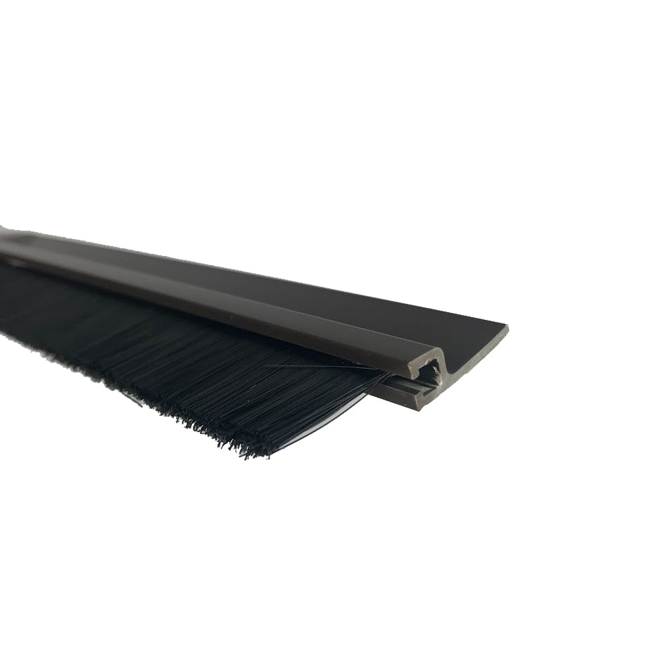 SuperSeal Door Bottom Brush Brown 1200mm