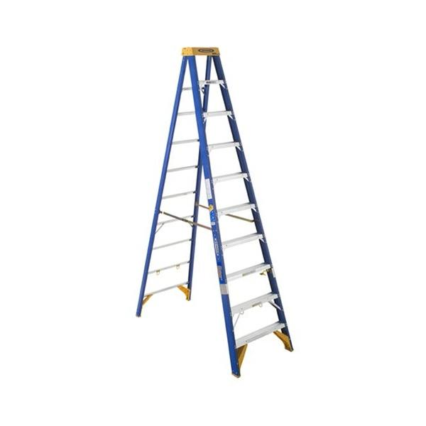 RENT - Werner Old Blue Electricians Ladder (various sizes)