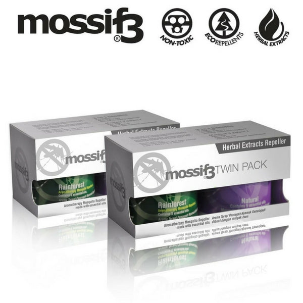Mossif3 Herbal Extract Mosquito Repeller 75Gm 2S