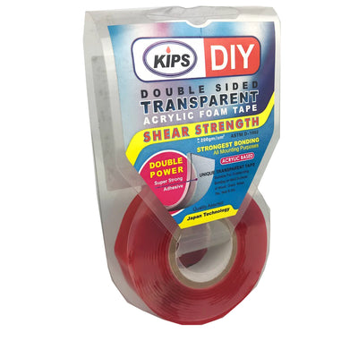 Kips Armstrong Hd Mounting Tape 18mm*2M Clear