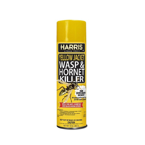 Harris Foaming Wasp & Hornet Spray 16Oz