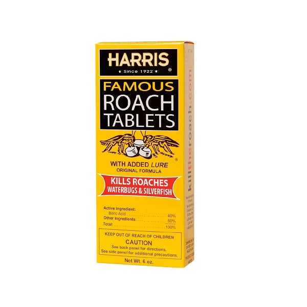 Harris Famous Roach Tablets 6Oz