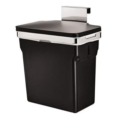 Photo of Simplehuman Cabinet Trash Can Chromed Steel 10L