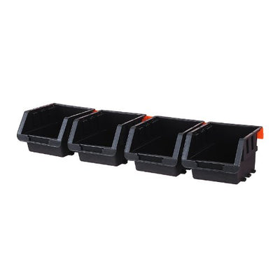 Tactix 4Pc Storage Bin Set
