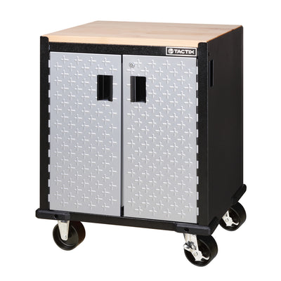 Photo of Tactix 2 Door Rolling Cabinet (67cm)
