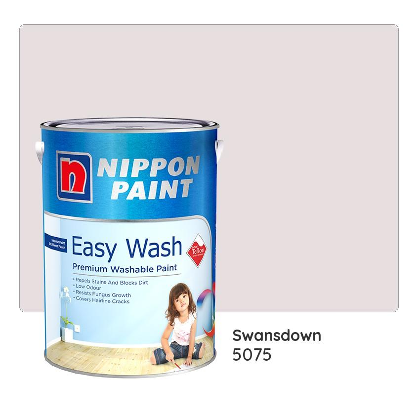 Nippon Paint Easy Wash With Teflon 170 5075 Swansdown