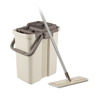 Photo of Flymop NC-2 Self-Wash And Squeeze Bucket Kit Beige
