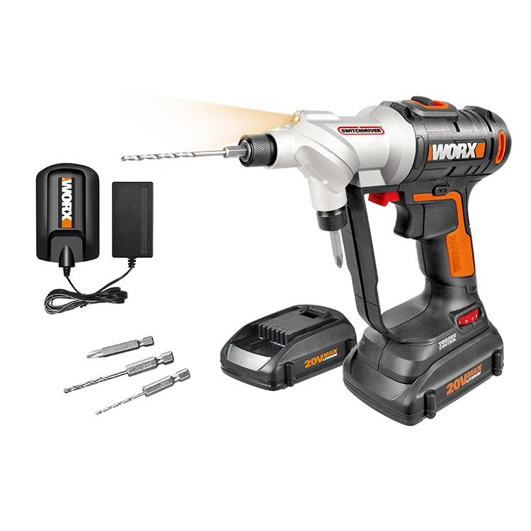 RENT - Worx 20V Switch Drill Driver Set