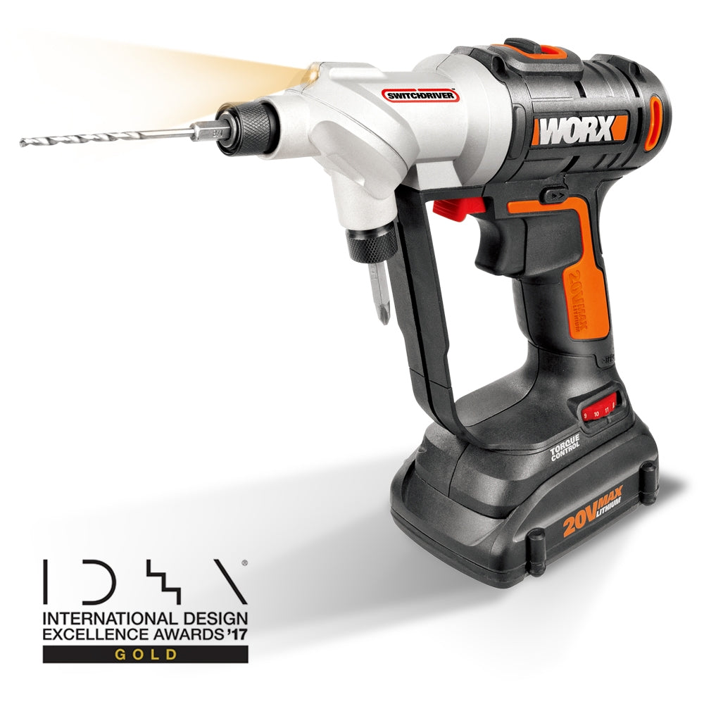 Worx 20V Switch Drill Driver Set