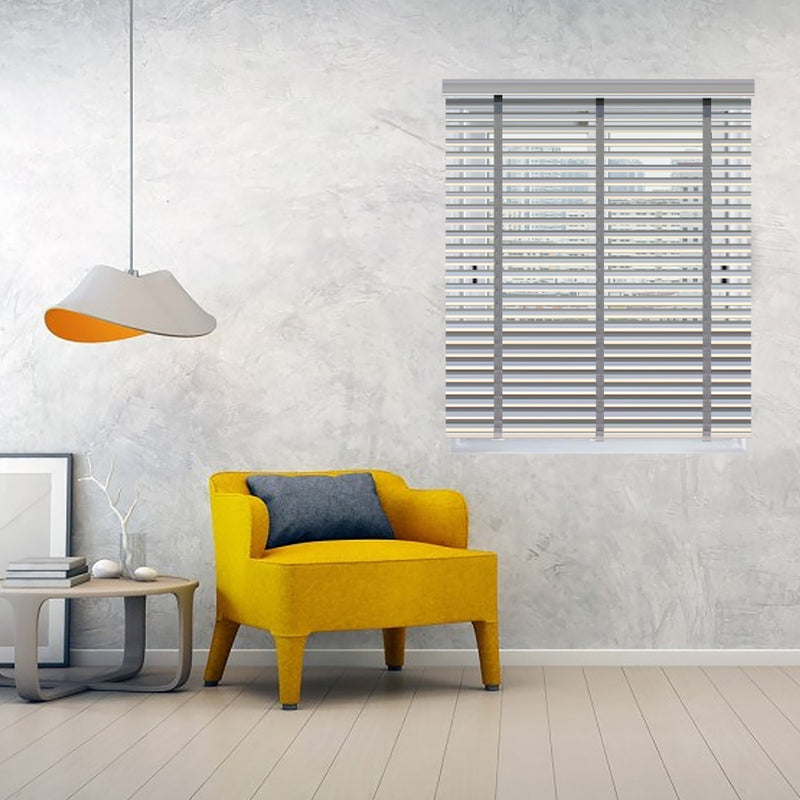 Infinum Ash Allwood 50Mm With Cloth Tape Wooden Blinds