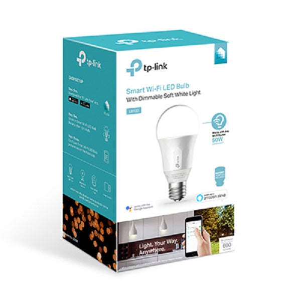 TP-Link LB100 Wi-Fi SMART LED Dimmable Bulb Warm White