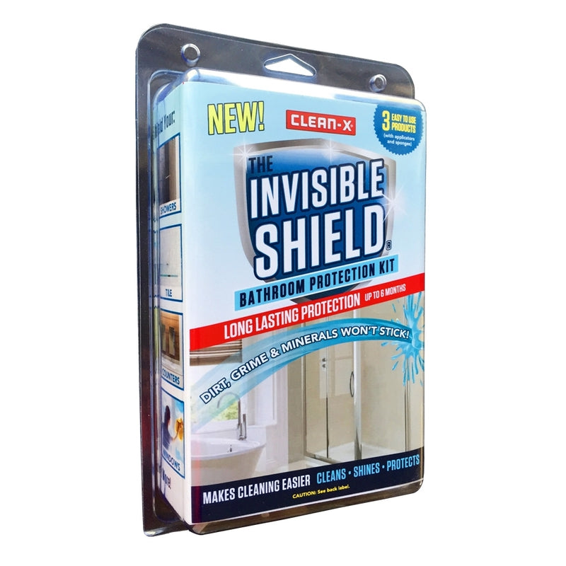 Clean-X Invisible Shield Bathroom Protection Kit
