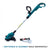 Makita Cordless Grass Trimmer 18V LXT Li-Ion