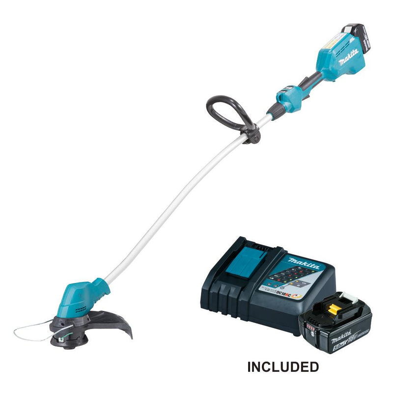 RENT - Makita Cordless Grass Trimmer (SET 2x5Ah) 18V LXT BL Brushless