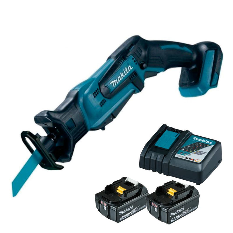 RENT - Makita Cordless Recipro Saw (SET 2x5Ah) 18V LXT Li-Ion