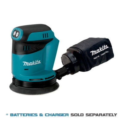 Makita Cordless Random Orbit Sander 18V 125mm LXT Li-Ion