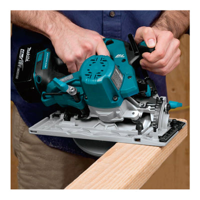 Makita Cordless Circular Saw (SET 2x3Ah) 18V LXT BL Brushless 165mm