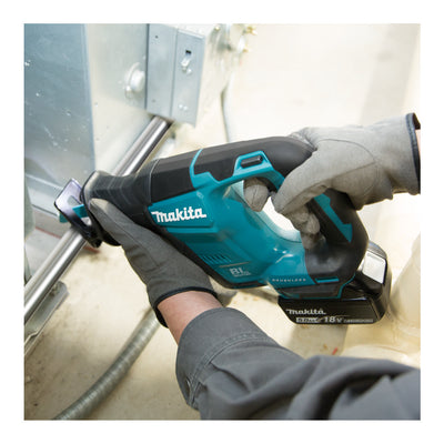 Makita Cordless Recipro Saw (SET 2x3Ah) 18V LXT BL Brushless