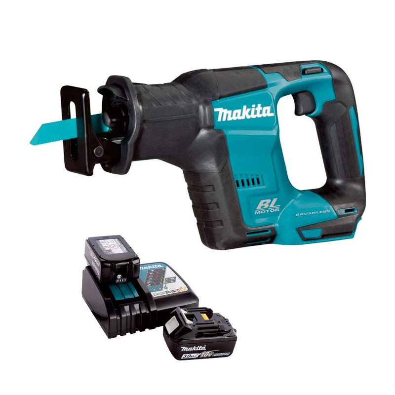 RENT - Makita Cordless Recipro Saw (SET 2x3Ah) 18V LXT BL Brushless