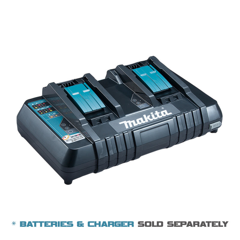Makita Fast Charger 2 Port for Makita LXT Li-Ion Batteries