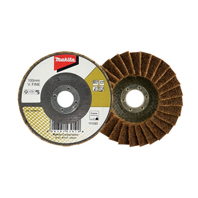 Makita Condition Flap Disc 100mm - Flat