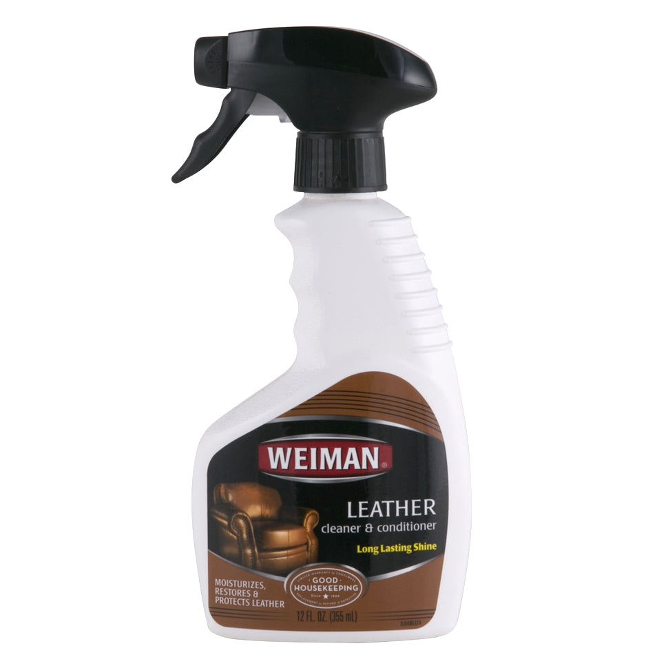 Weiman Leather Cleaner & Polish Trigger 355ml