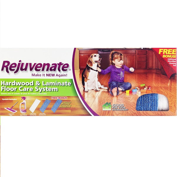 Rejuvenate Hardwood And Laminate Mop Kit