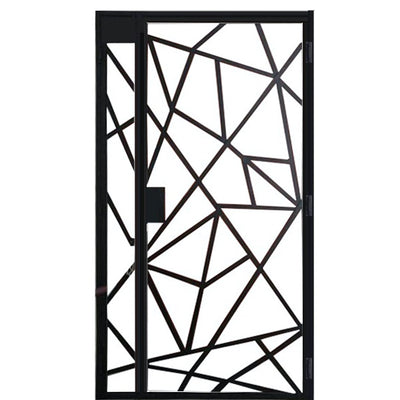 Modern Design Mild Steel Gate SMG-08 4FT*7FT